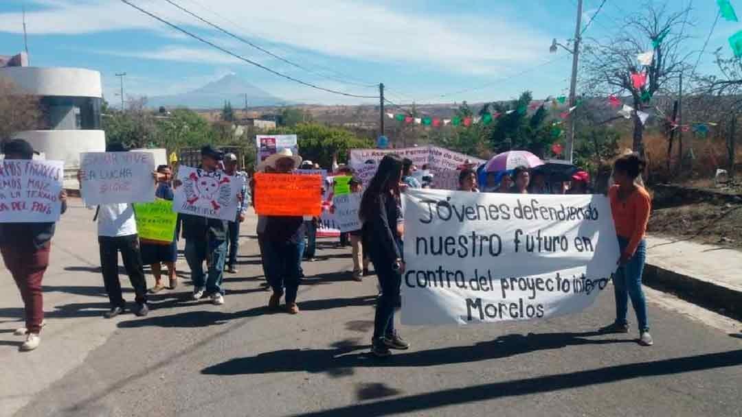 Activistas contra termoeléctrica exigen seguridad (Morelos)