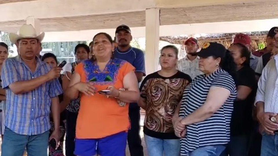 Rechazan postura de apoyo de líder ejidal de Ohuira a planta de amoniaco (Sinaloa)