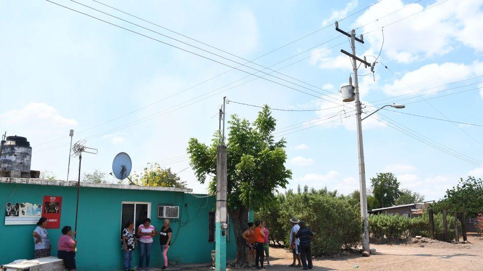 Tienen tres días sin energía eléctrica en ejido Argentina 2 (Sinaloa)