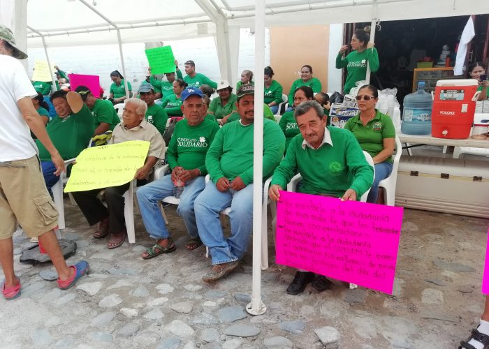 Paro estatal del SUTSEM se siente en Bahía de Banderas (Nayarit)