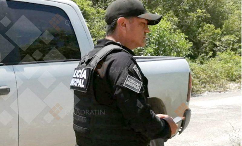 Trata policía de atropellar a reportero de Quadratín Quintana Roo