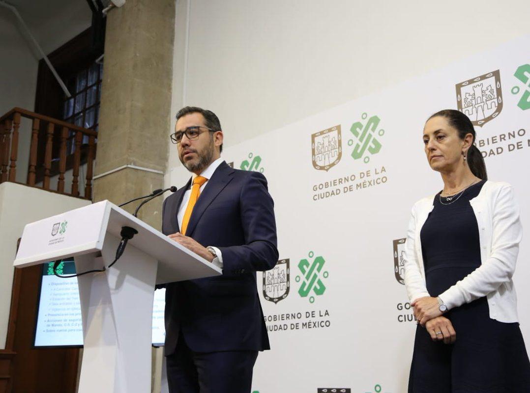 Sheinbaum y Orta se contradicen sobre situación laboral de policías que violaron a menor (Ciudad de México)