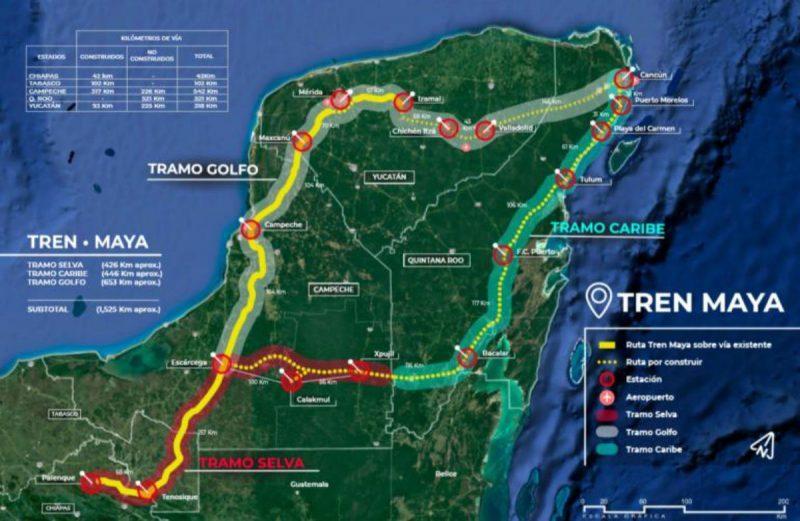 A quién beneficiará el Tren Maya