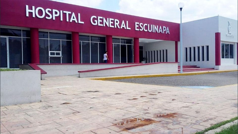Colapsa el drenaje del hospital general de Escuinapa (Sinaloa)