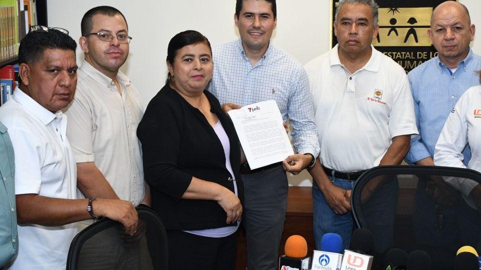 Periodistas interponen queja en CEDH por agresión de alcaldes (Sinaloa)