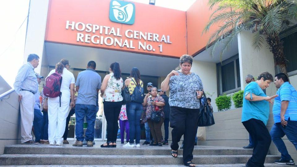 Protestan por falta de especialista en la Clínica 1 del IMSS Culiacán (Sinaloa)