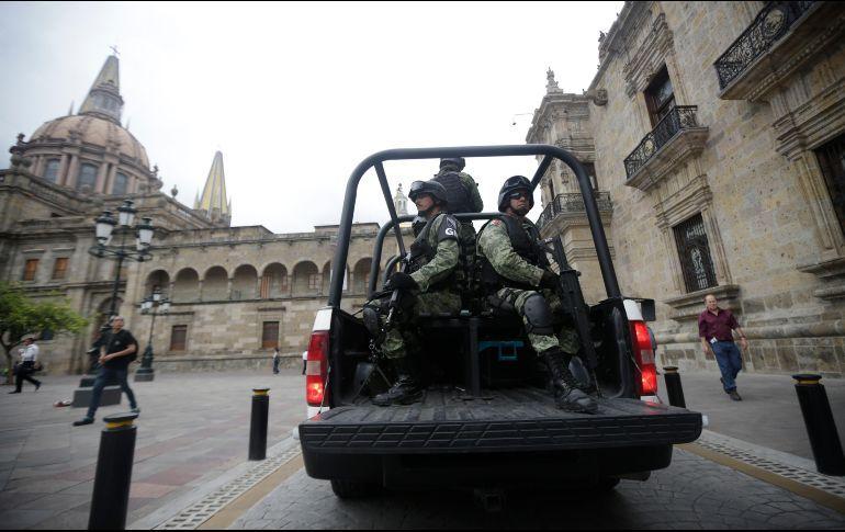 Arriban 400 militares más para reforzar seguridad en metrópoli (Jalisco)