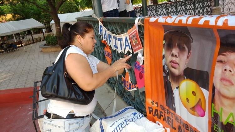 """""""No esperes que te pase a ti"""", En día de desaparecidos, madres claman por sus hijos ausentes (Sinaloa)"""