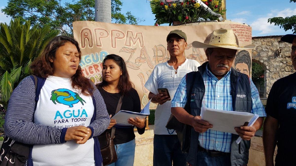 Activistas reiteran rechazo a la termoeléctrica de Huexca (Morelos)