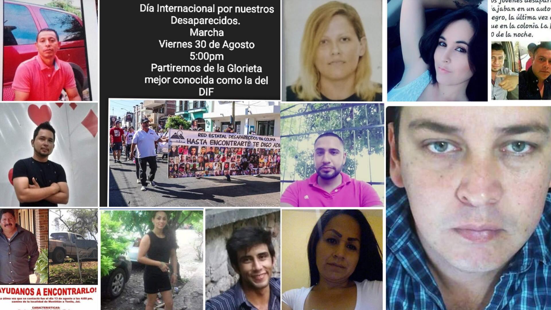 Alertan por incremento en el número de personas desaparecidas en Colima