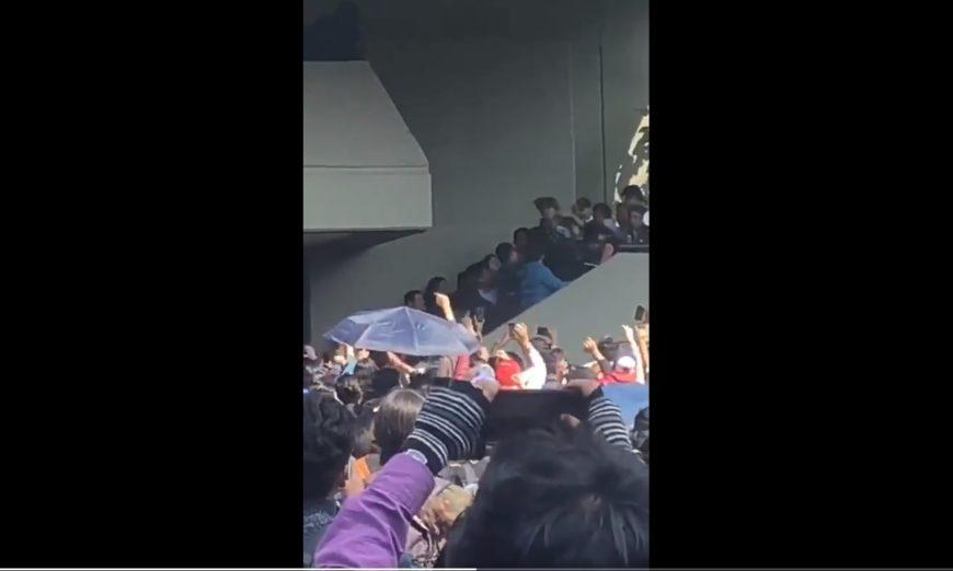 Un funcionario de la FES Acatlán agrede a un alumno durante inicio de un paro de 48 horas (VIDEO)