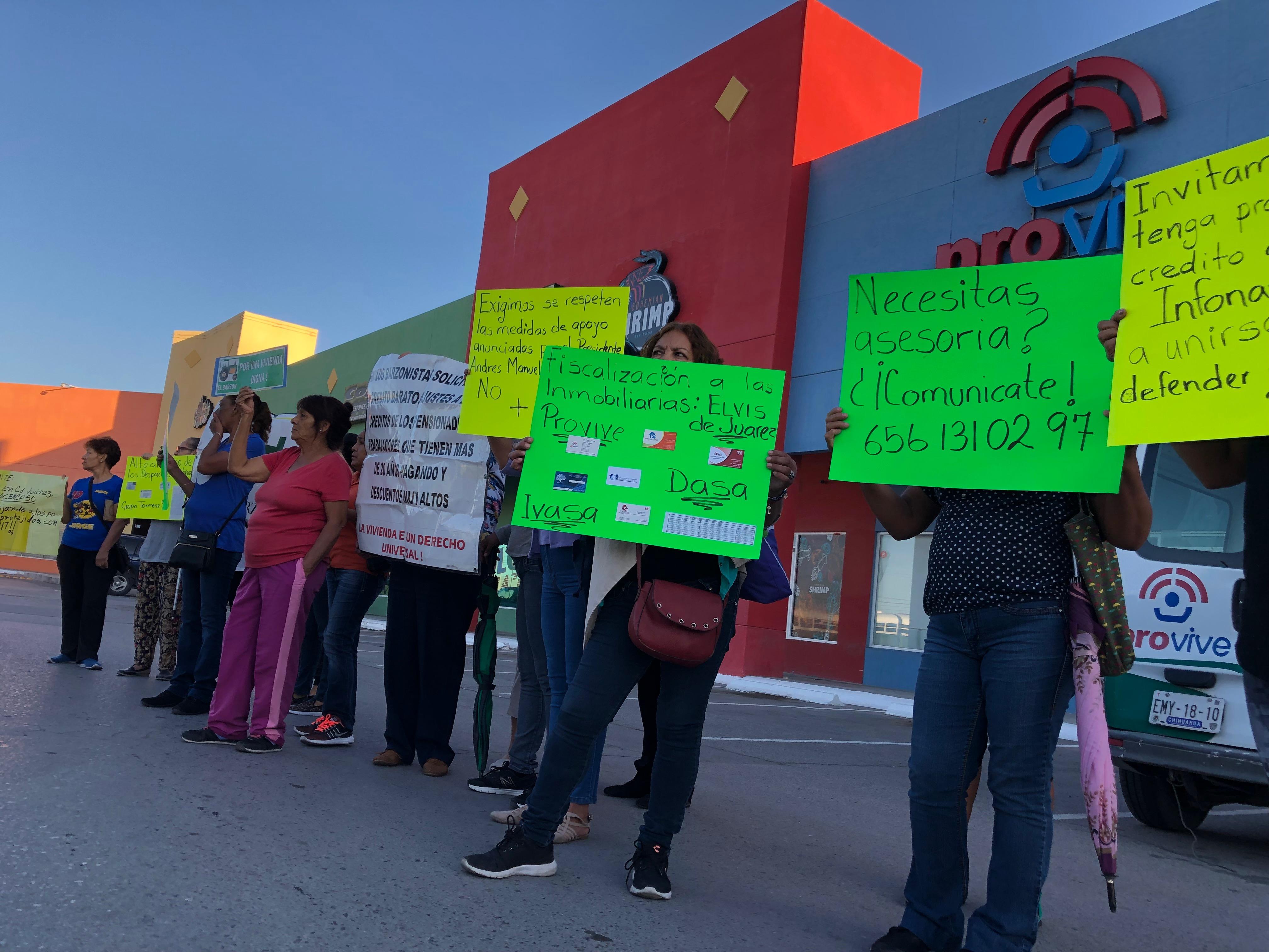 Despojos de viviendas desatan protesta contra inmobiliaria (Chihuahua)