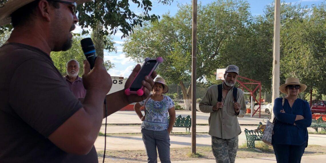 Alzan la voz contra la mina pobladores de Samalayuca (Chihuahua)