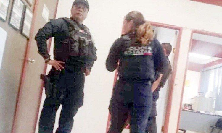 Policía Estatal reprime a estudiantes por armar protesta (Tamaulipas)