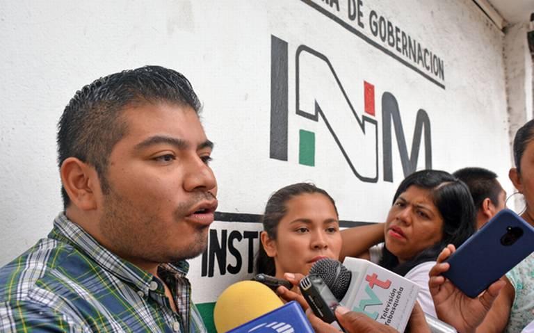 Violenta Migración derechos de los indocumentados (Tabasco)