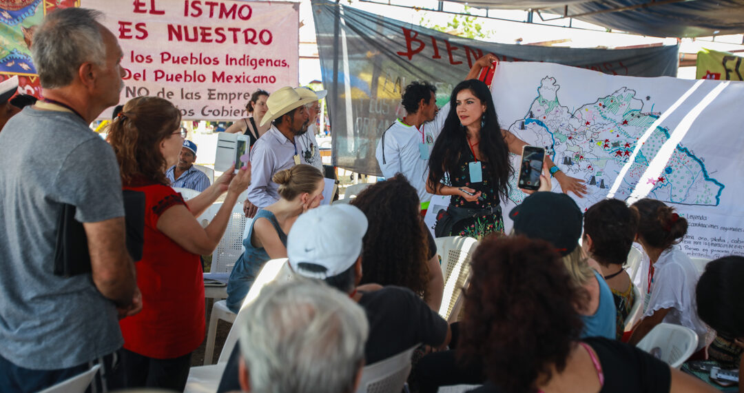 Comunidades indígenas hacen bloque contra proyecto transístmico (Oaxaca)