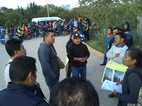 Protestan contra empresa minera Cuzcatlán por incumplir con obras en la comunidad El Cuajilote (Oaxaca)
