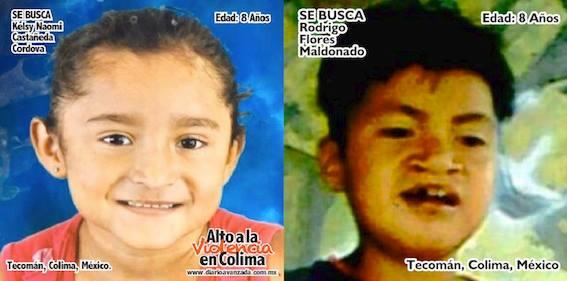 Colima tiene la tasa más alta de menores desaparecidos víctimas del crimen organizado, revela la CNDH