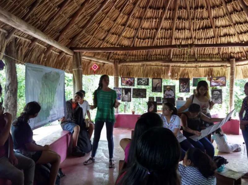 Pueblos originarios convocan a una resistencia nacional contra proyectos federales por poner en riesgo sus derechos y territorios (Quintana Roo)