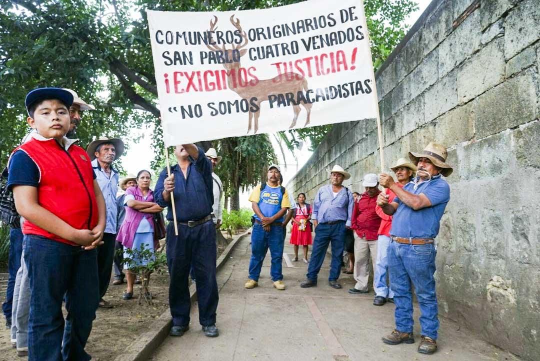 Indígenas de Oaxaca anuncian que se preparan para las cosechas tras intento de despojo