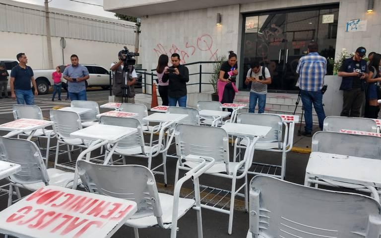 Exigen justicia por el feminicidio y desaparición de estudiantes (Jalisco)
