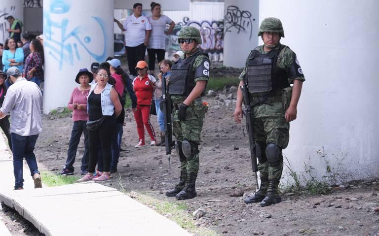 Gestionan seis cuarteles para Guardia Nacional en Edomex