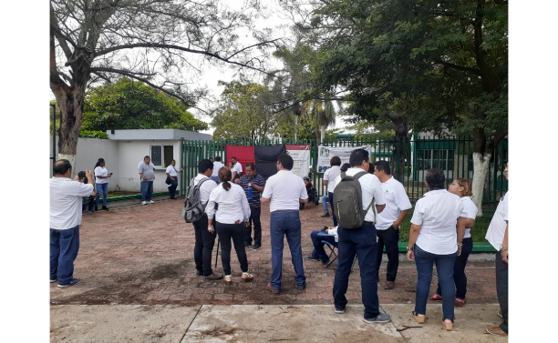 Inicia huelga en tres planteles del Conalep en Campeche