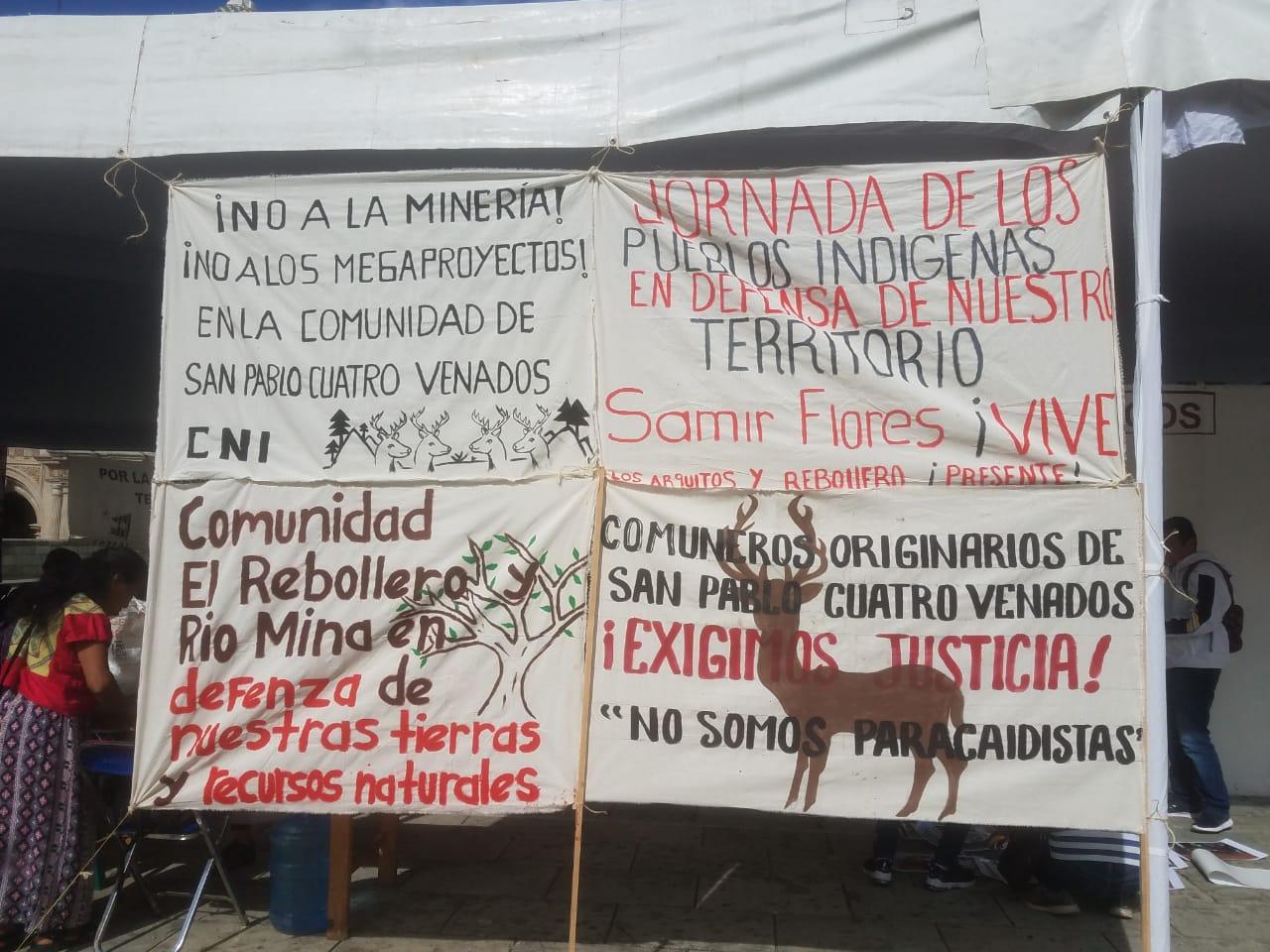 Comuneros de San Pablo Cuatro Venados, Oaxaca, llaman a defender las tierras y advierten sobre posibles agresiones por parte de los tres niveles de gobierno