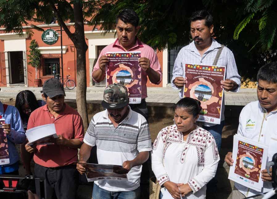 Resistencias en Oaxaca se suman a jornada global Samir Flores Vive