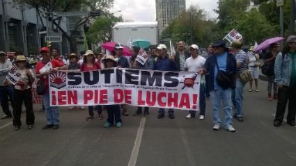 Sindicato de trabajadores del Instituto de Educación Media Superior emplazan a huelga (Ciudad de México)