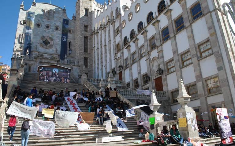 Universidad de Guanajuato se une a paro nacional universitario