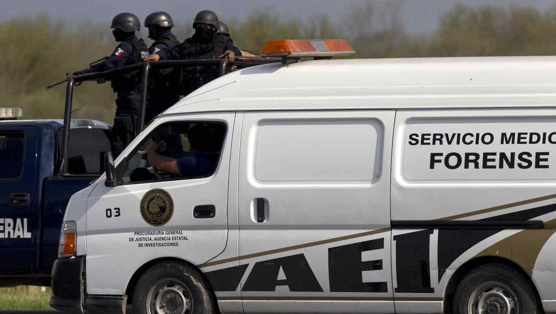Con un dron familias hallan restos de desaparecidos en una fosa cerca de un puente fronterizo (Tamaulipas)