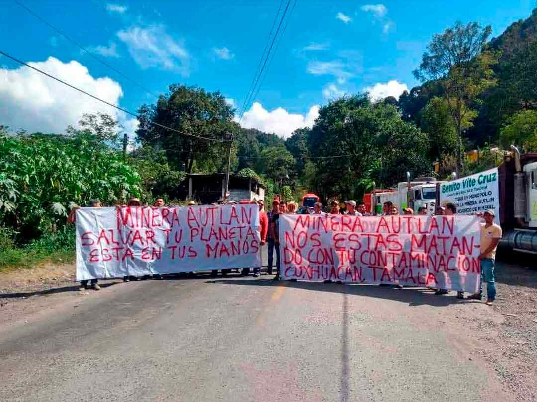 Minera Autlán enferma a habitantes de la Sierra (Hidalgo)