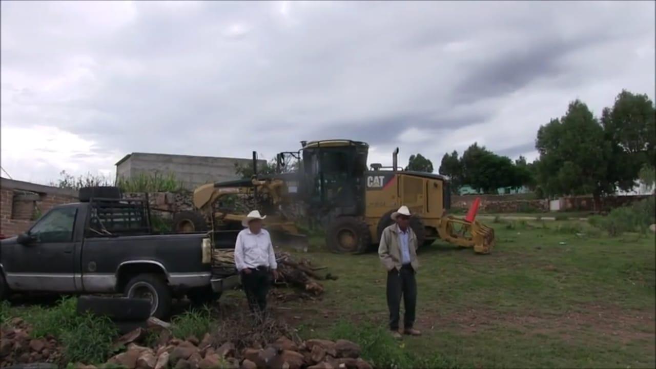 Ejidatarios interponen denuncia por invasión con maquinaria (Zacatecas)