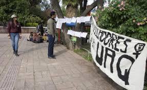 Alumnas de la UAQ elevan la voz contra el acoso sexual (Querétaro)