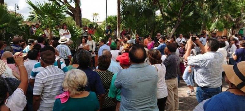 Exigen jubilados solución ante quiebra del organismo de seguridad social yucateco