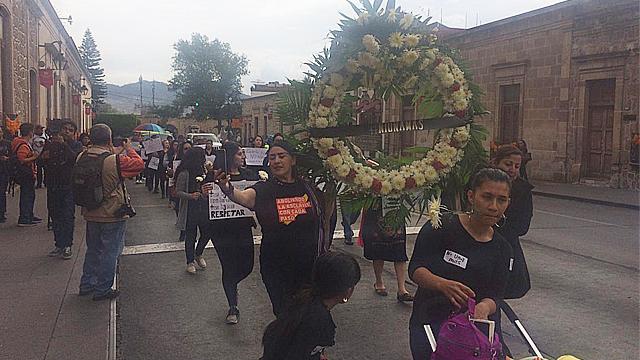 Colectivo, convoca a marcha este lunes en Morelia por feminicidios