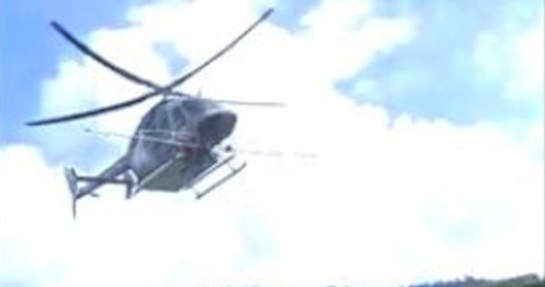 Campesinos de Guerrero culpan a militares de fumigar con helicóptero y amenazan con derribarlo