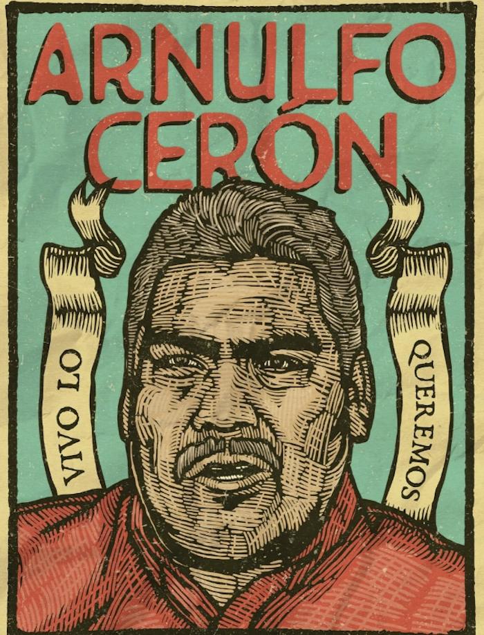 El cuerpo del activista Arnulfo Cerón es localizado en una fosa clandestina en Tlapa, Guerrero