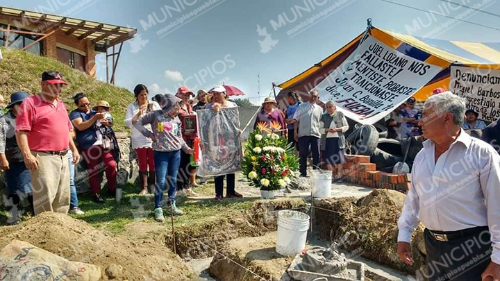 Acciones para frenar drenaje industrial en Juan C Bonilla (Puebla)