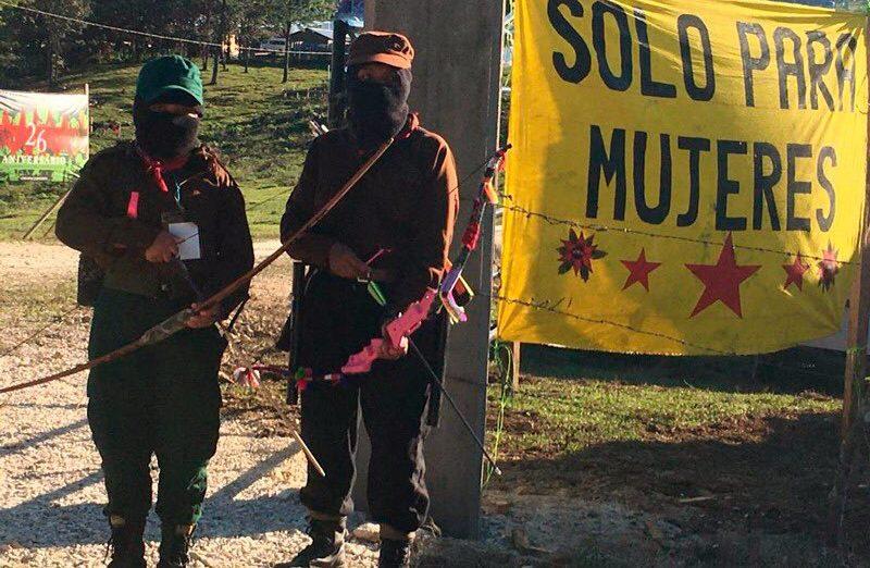 Mujeres zapatistas enseñan que otro mundo sin feminicidios es posible