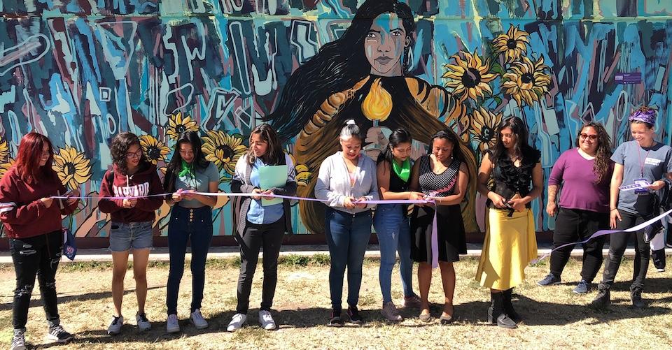 Quiénes son las adolescentes de Ecatepec que hacen la intervención contra la violencia machista (Estado de México)