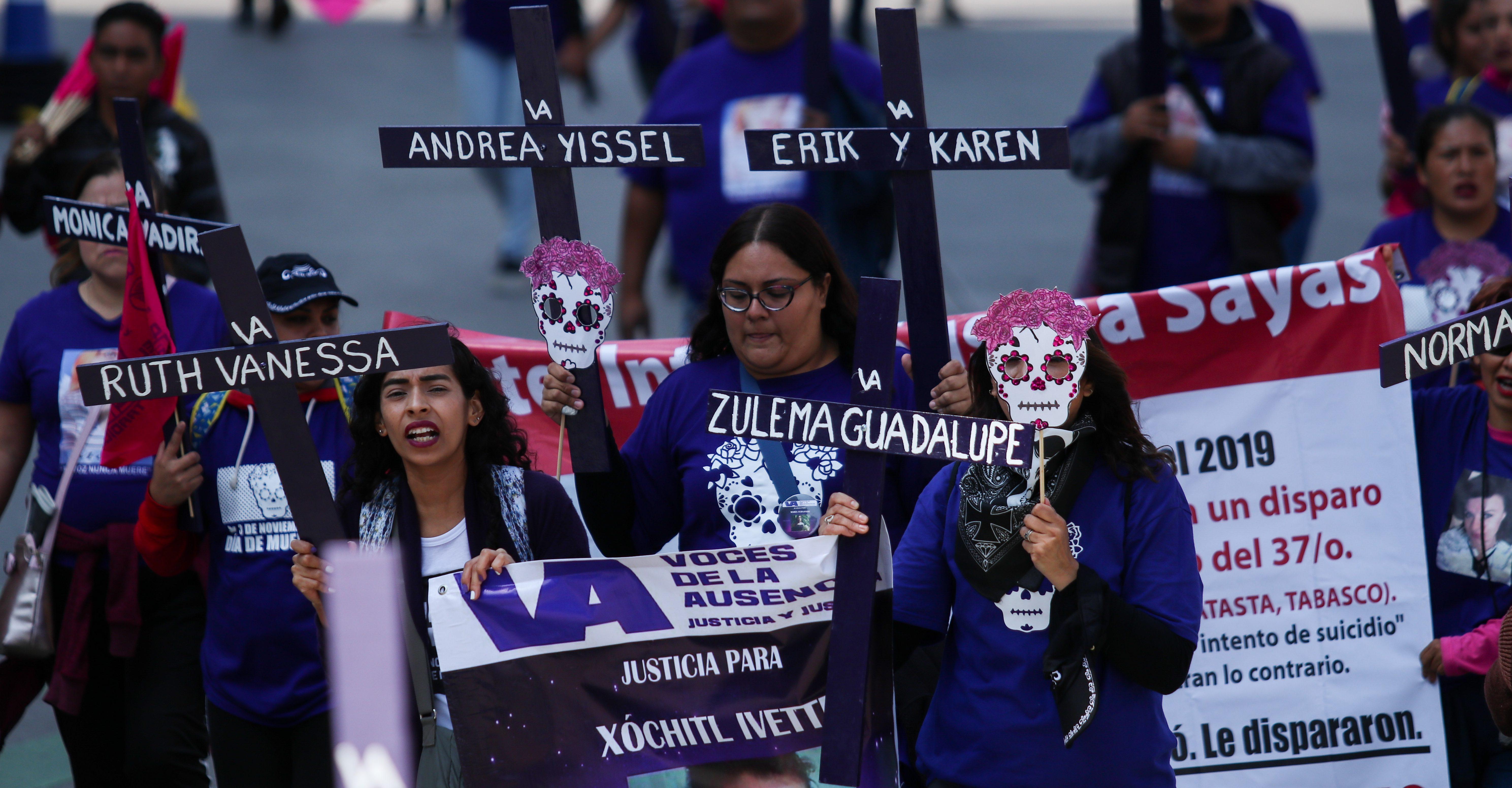 Veracruz, Morelos y Nuevo León, los estados con las tasas más altas de feminicidio