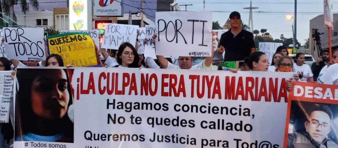 Culiacán es el segundo municipio con más feminicidios en el país, y sumó ahora el de Mariana