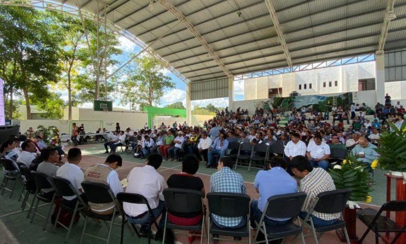 La prioridad aquí es resolver el problema del agua, claman en Campeche frente al Tren Maya