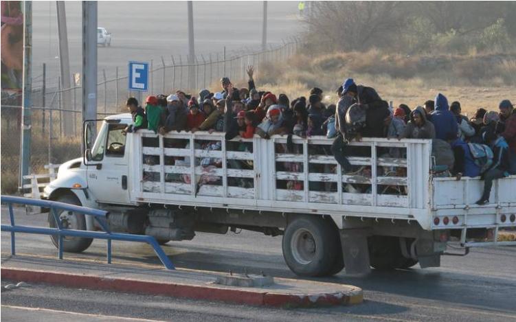 Se redujo un 60% migración de centroamericanos por SLP