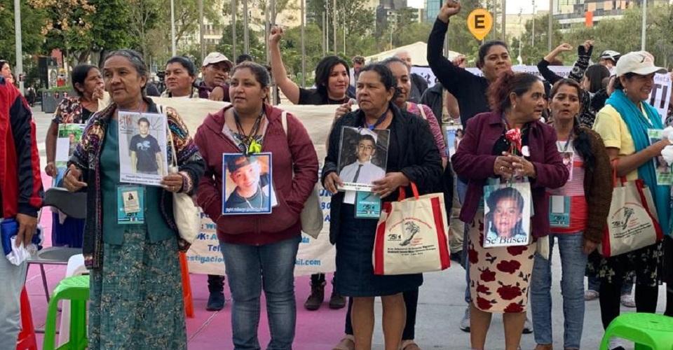 'Ya no queremos más promesas', los reclamos de la Caravana de madres de migrantes desaparecidos