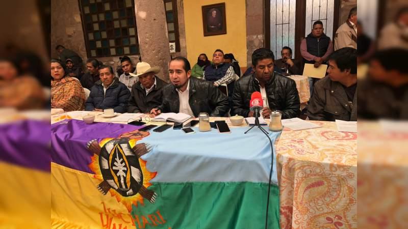 Desmiente Concejo Indígena a alcaldesa de Nahuatzen y la retan a que muestre pruebas (Michoacán)