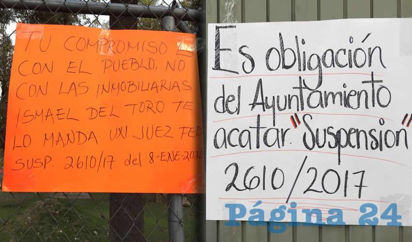"""Exigen Vecinos de San rafael: """"¡Que Ismael del Toro acate la suspensión!"""" (Jalisco)"""