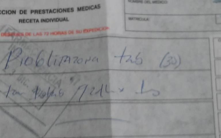 IMSS en San Luis Potosí se habría quedado sin medicamento